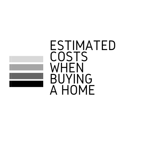 Estimated costs when buying a Home